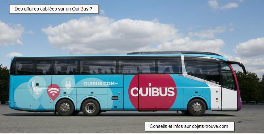 Affaires oubliées sur un Oui Bus ?