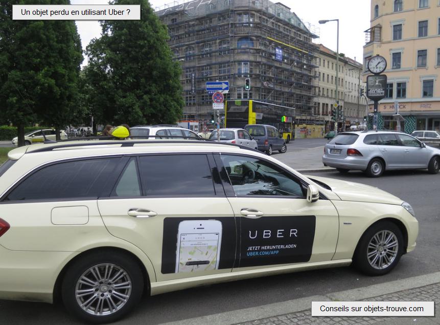 Objets trouvés société Uber