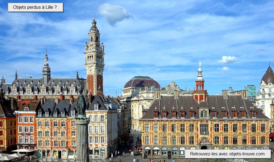 Affaires égarées à Lille ?
