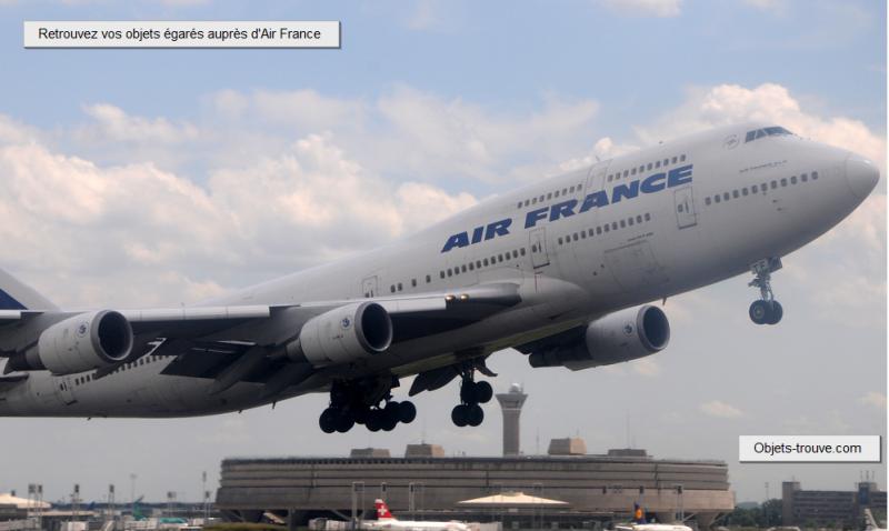 Objet perdu Airfrance
