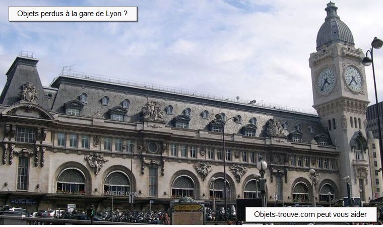 objet trouv la gare de lyon paris comment signaler un objet perdu. Black Bedroom Furniture Sets. Home Design Ideas