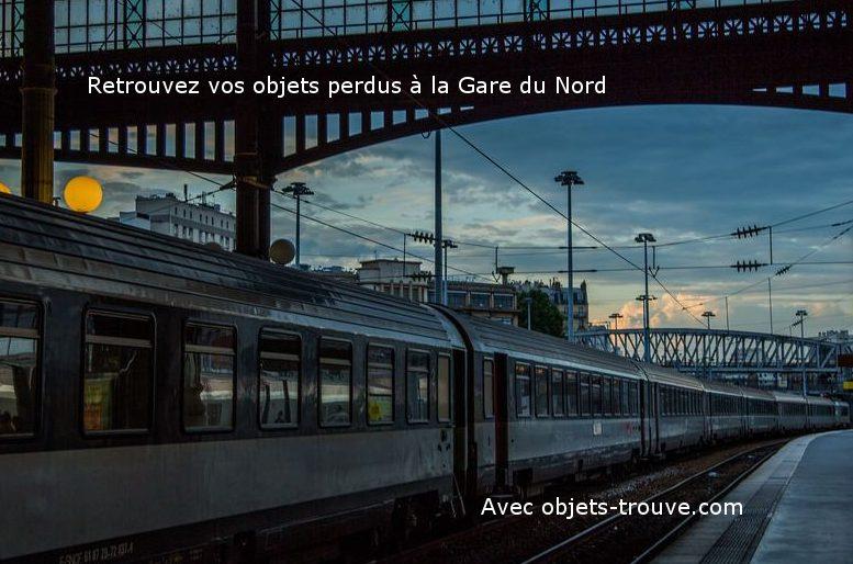 objet trouvé pour la gare du nord de paris : horaires et formulaire
