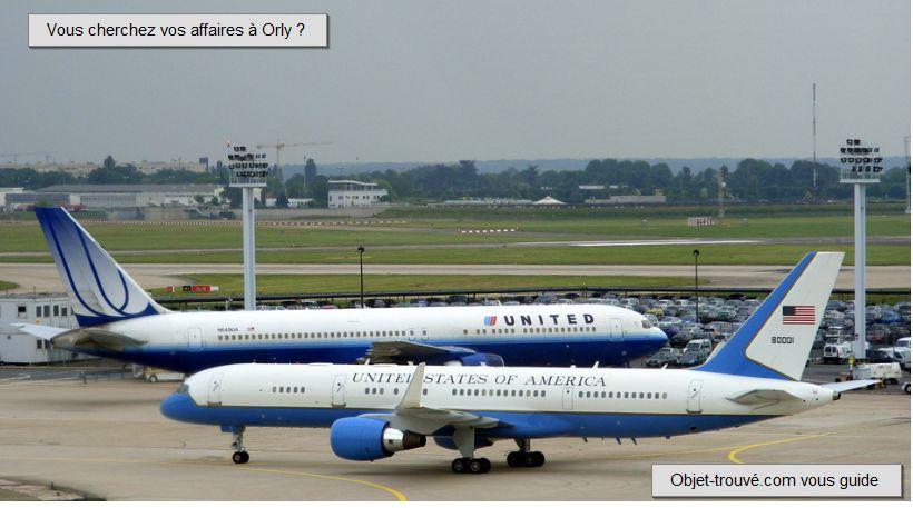 Objet perdu aéroport d'Orly